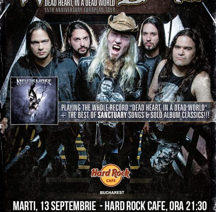 Concurs: Warrel Dane la Hard Rock Cafe