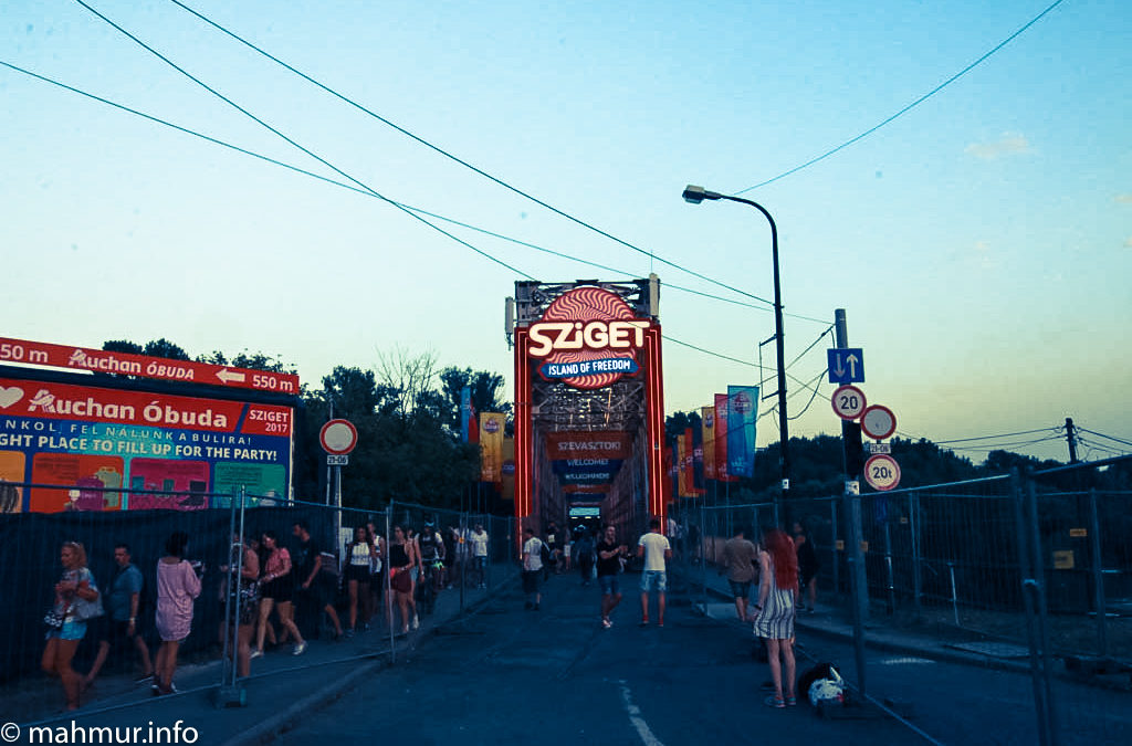 Sziget Festival 2017 – Day 1