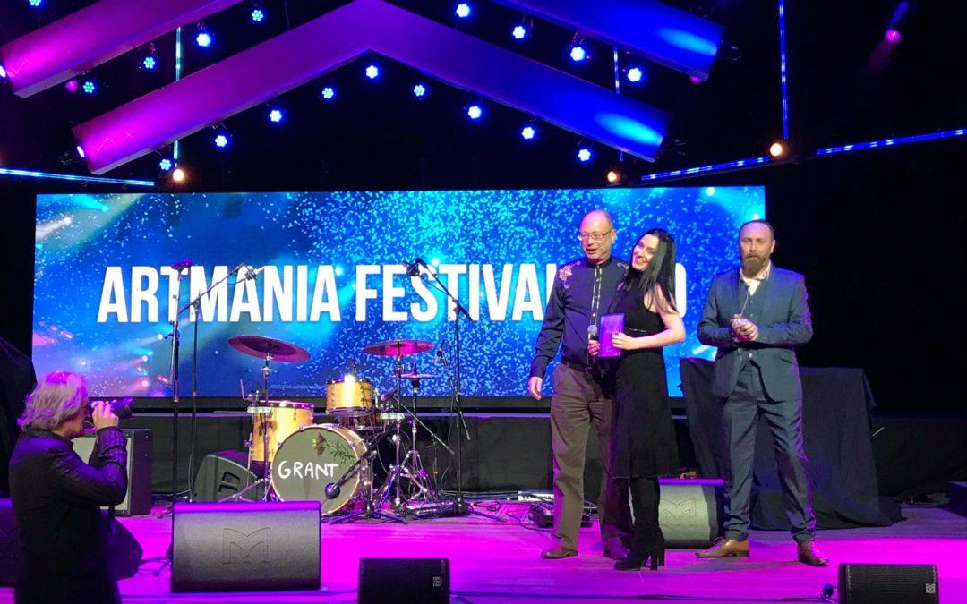"""ARTmania a fost desemnat cel mai bun festival european din 2018 la categoria """"Best Small Festival"""" la European Festival Awards"""