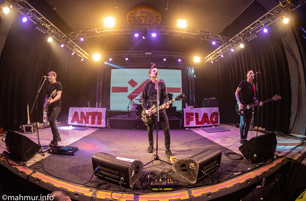 Concert Anti Flag in Quantic